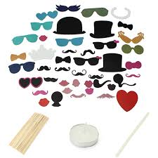 44pcs photo booth wedding prop welcome mustache mask props at 44pcs photo booth wedding prop welcome mustache mask props