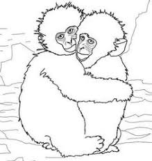 printable monkey coloring pages monkey ready to eat bananas monkeys pinterest monkey