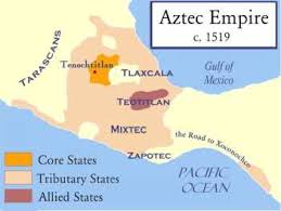 aztec map of mexico the aztec empire