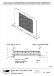 door plan u0026 typical commercial door