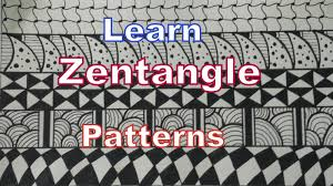 how to draw easy zentangle art patterns for beginners tutorial