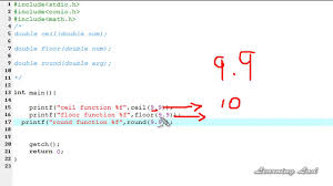 Floor Math by 096 96 Ceil Round Floor Math Functions In C Programming Language