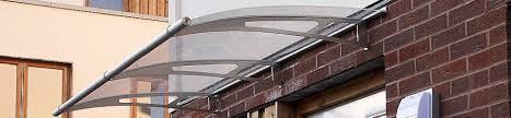 Plastic Door Canopy by Suppliers Of Grp Glass U0026 Acrylic Door Canopies Order Online At
