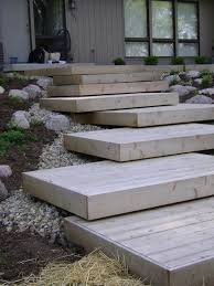 deck steps contemporary landscape chicago by dew it right