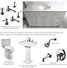 100 waterworks brass kitchen faucets highgate deck mount