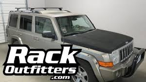 jeep kayak rack jeep commander with rhino rack rlcp vortex roof rack crossbars