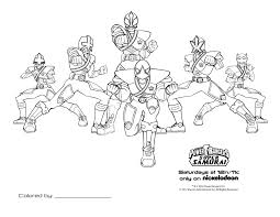 red power rangers coloring pages download print free