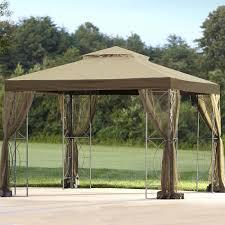 hampton bay pergola with retractable roof trellis gazebo