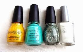 lacquered lawyer nail art blog tropical delight