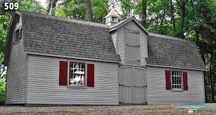 Gambrel Roof Garages by Custom Garage Custom Garage Plan Horizon Structures