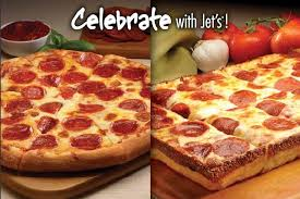 how much is a medium pizza at round table cheese pepperoni pizza large square from jet s pizza