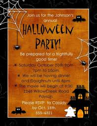 100 halloween invitations spooky halloween party invitation