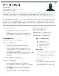 receptionist resume templates receptionist resume cliffordsphotography