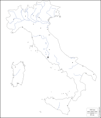 Italy Cities Map by Italy Free Map Free Blank Map Free Outline Map Free Base Map