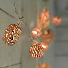 copper lights by home notonthehighstreet