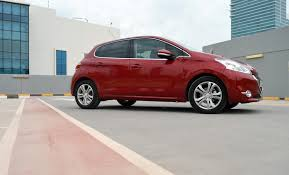 peugeot uae peugeot 208 review finer points drivemeonline com