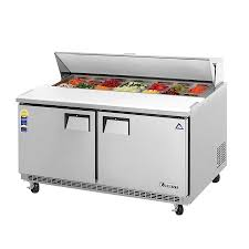 48 inch sandwich prep table used everest epbnwr2 sandwich prep table salad top prep table two section