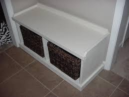 Entryway Cubbies Custom Entryway Hallway Cubbie Bench With Customer U0027s Baskets