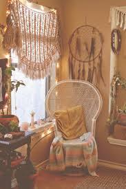 bedroom bohemian bedroom ideas bedding carpeting chandelier bohemian bedroom ideas bedding carpeting chandelier double hung windows dresser headboard muntins nightstand nook pendant light pillows purple painted wall
