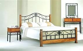 Wood And Iron Bedroom Furniture Wrought Iron Bedroom Set Kgmcharters