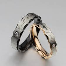 gear wedding ring gear tungsten carbide ring lettering cz tungsten carbide