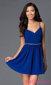short blue dresses dress fa