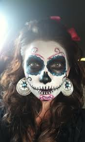 Day Of The Dead Halloween Makeup Ideas 41 Best Dia De Los Muertos Images On Pinterest Sugar Skulls