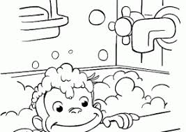 curious george coloring pages coloring4free