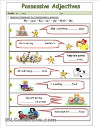 brilliant ideas of possessive pronouns worksheets for kindergarten