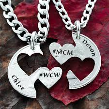 couples heart necklace images Custom names couples heart necklaces mcm wcw engraved namecoins jpg
