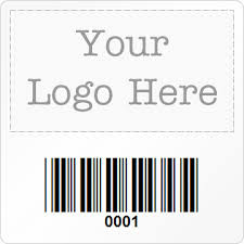 square barcode labels