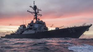 Singapore Navy Flag 10 Us Navy Sailors Missing After Destroyer Collides With Merchant