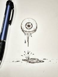 25 unique eyeball drawing ideas on pinterest candle drawing