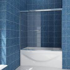 glass tub shower doors frameless bathtub shower doors ebay
