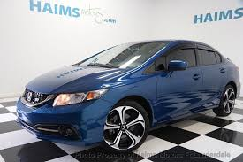 2014 used honda civic sedan 4dr manual si at haims motors serving
