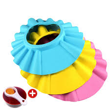 baby shower hat free shipping soft baby shower cap shoo bath shower hat protect