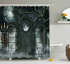 5 halloween shower curtains to spice up your bathroom my happy