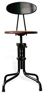 industrial metal bar stools with backs interior industrial stool teak swivel with back stunning stools