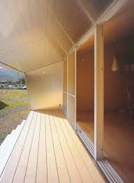 Japanese Small Home Design - small home design ideas metal clad house with wood interior