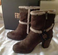 womens shearling boots size 11 frye s size 11 ankle boots ebay
