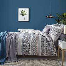 geometric pattern bedding 63 most blue chip geometric pattern bedding cool duvet covers bed