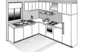 plan cuisine l plan cuisine ouverte awesome merveilleux plan cuisine ouverte