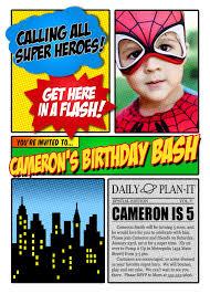 superhero party invitation templates cloudinvitation com