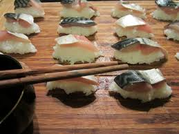 cuisiner le maquereau sushis de maquereau recette de sushis de maquereau