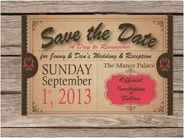save the date announcements save the date birthday invitations vintage save the date