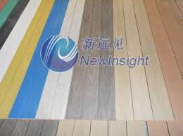 china mix color wpc decking with sgs ce fsc colorized composite