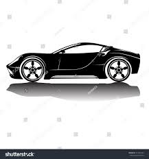jeep front silhouette vector isolated car silhouette image black stock vector 317026343
