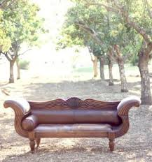 Incredible Leather Settee Sofa Better Housekeeper Blog All Things Best Ever Bridal Shower Budget Ideas The Frugal Girls