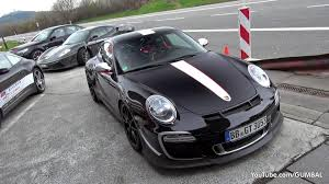 porsche 991 gt3 rs 4 0 loud porsche 997 gt3 rs 4 0 at the nurburgring revs start up