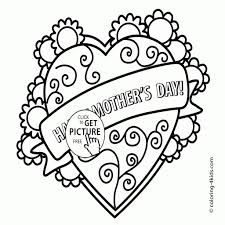 new mother u0027s day printable coloring pages